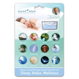 SC-300-01 Sleep Relaxation Wellness Sound Card