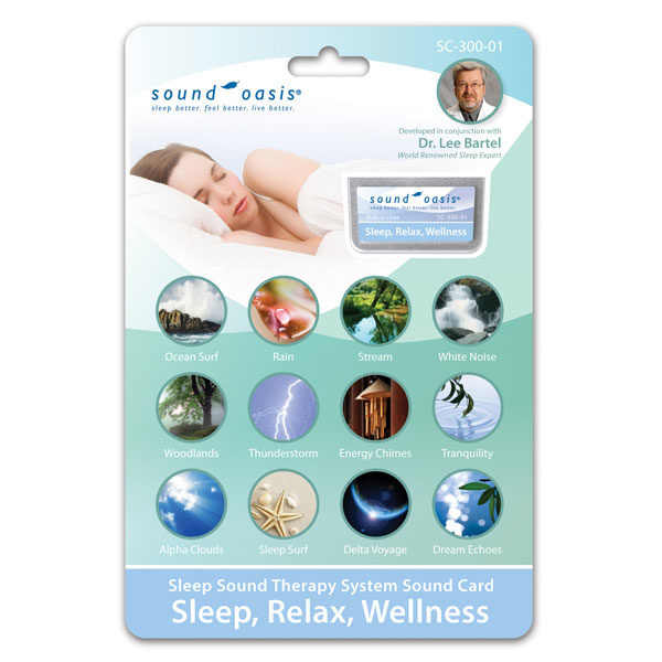 SC-300-01 Sleep Relaxation Wellness Sound Card