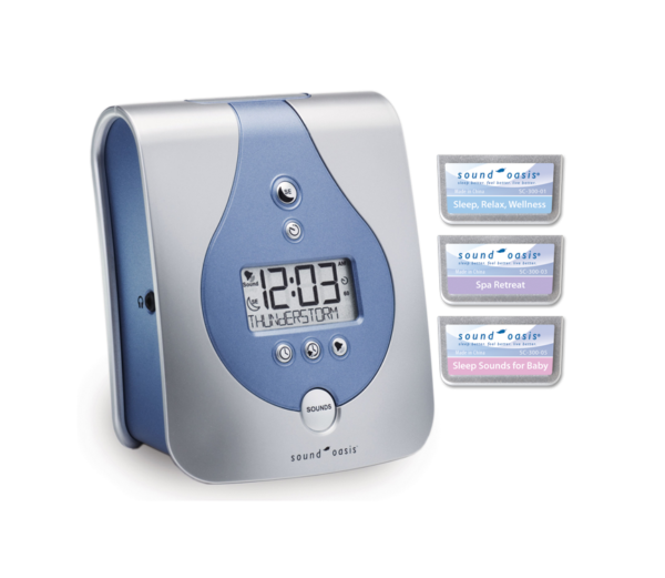 S-665 Sleep Sound Therapy Machine with 3 sound cards