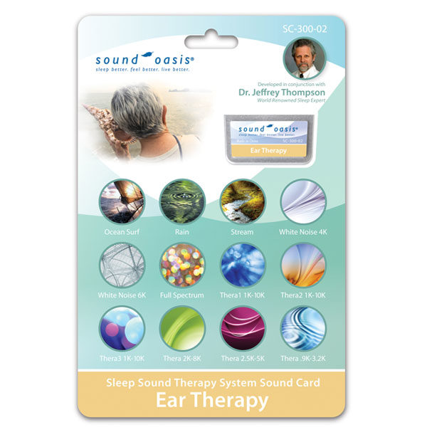 SC-300-02 Tinnitus Therapy Sound Card