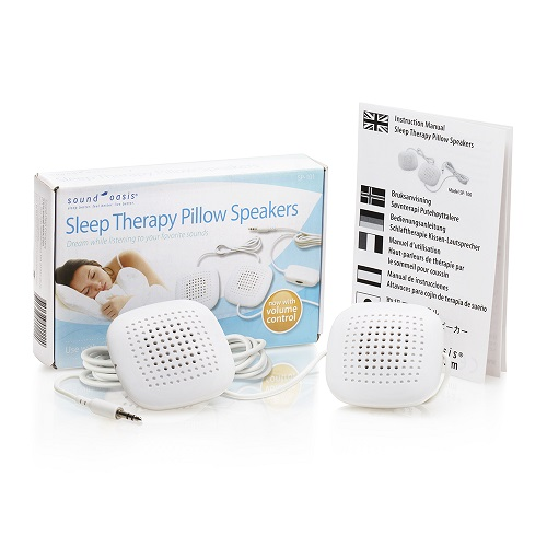 stereo pillow speaker package