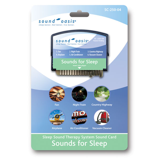 SC-250-04 Sounds for Sleep Sound Card