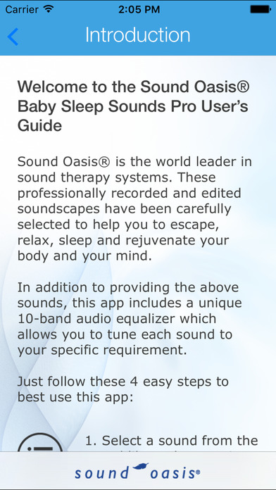 Sleep Sounds For Baby - Sound Oasis