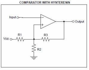 microchip hysteresis