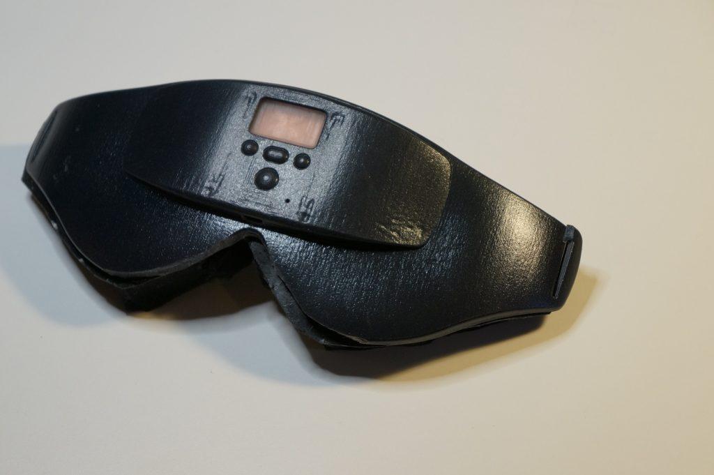 prototype alarm clock eye mask