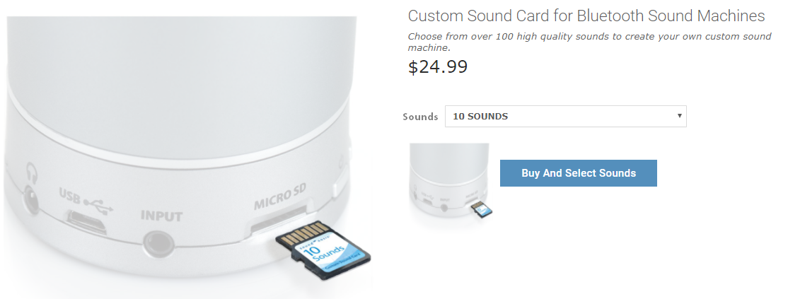 select best sound machine sounds