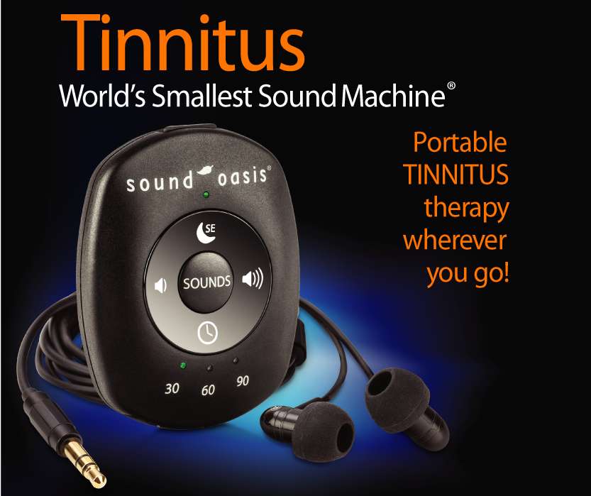 Portable Tinnitus therapy for travel